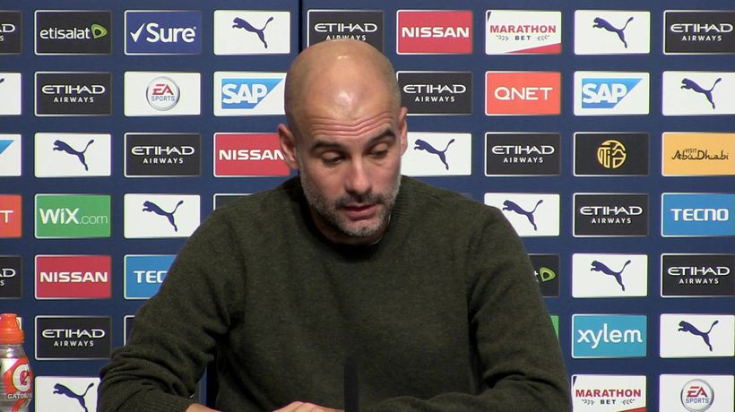 Surprised over Poch sacking - Guardiola