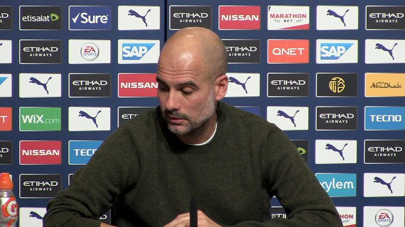 Bernardo accused of something he's not - Guardiola