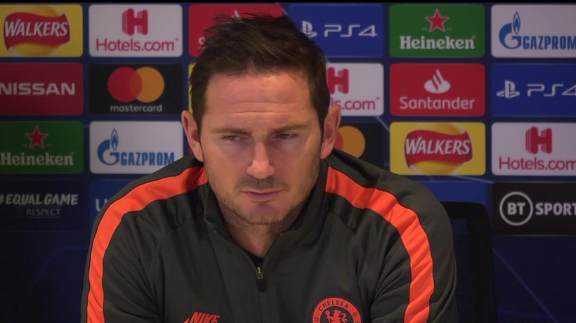 "Lampard ""we can't afford to give chances away agai"