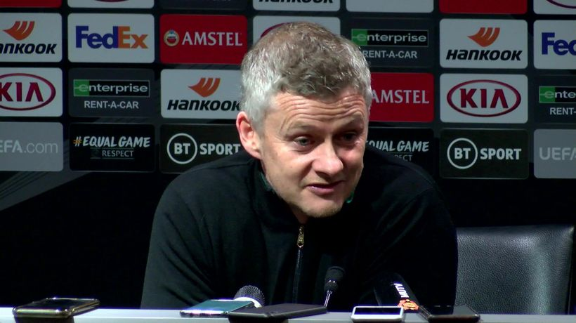 Ole jokes about ex- players managing in the Prem