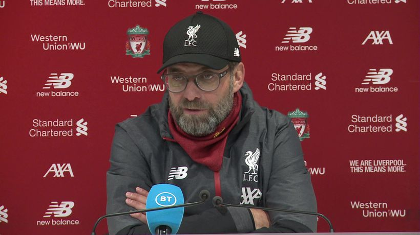 Not an off day, just a tough game - Klopp