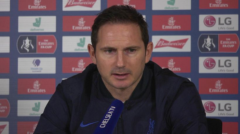 Frank not happy with chelsea's current form and ba
