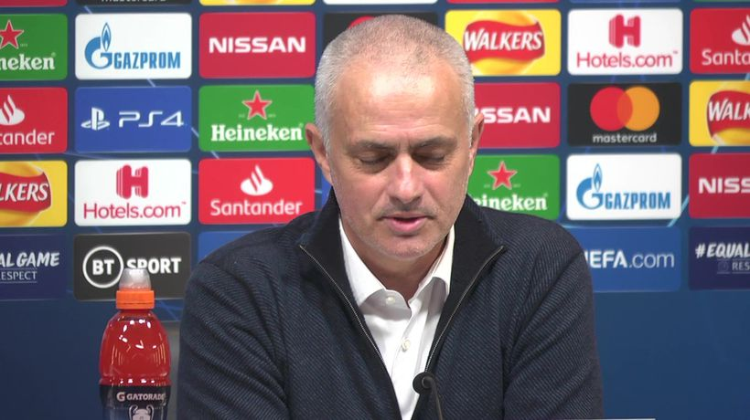Why shouldn't we believe - Mourinho