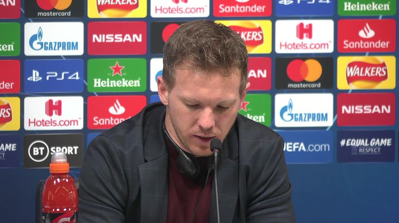 Pleased with win, we can go through - Nagelsmann