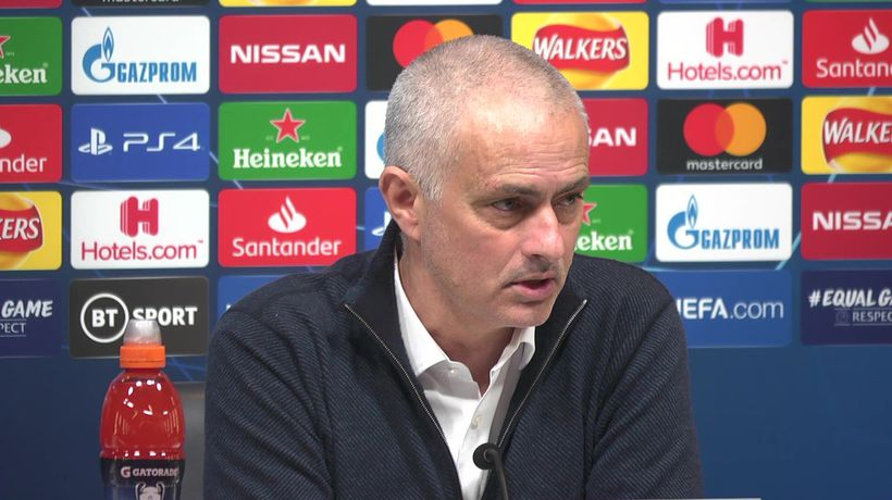 Proud of players - Mourinho