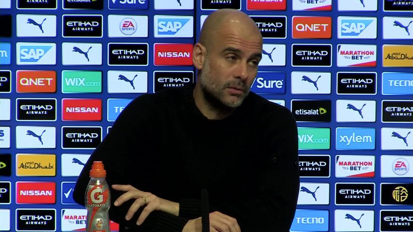 'Closed doors' games will happen - Guardiola