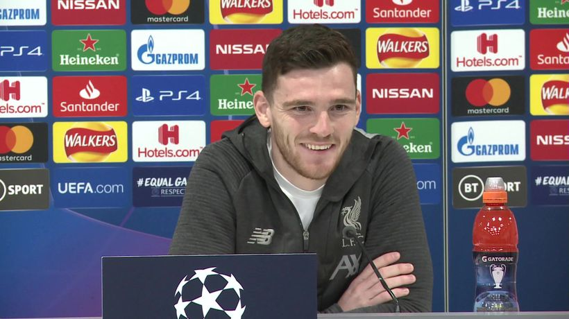I'm fit for Atletico - Robertson