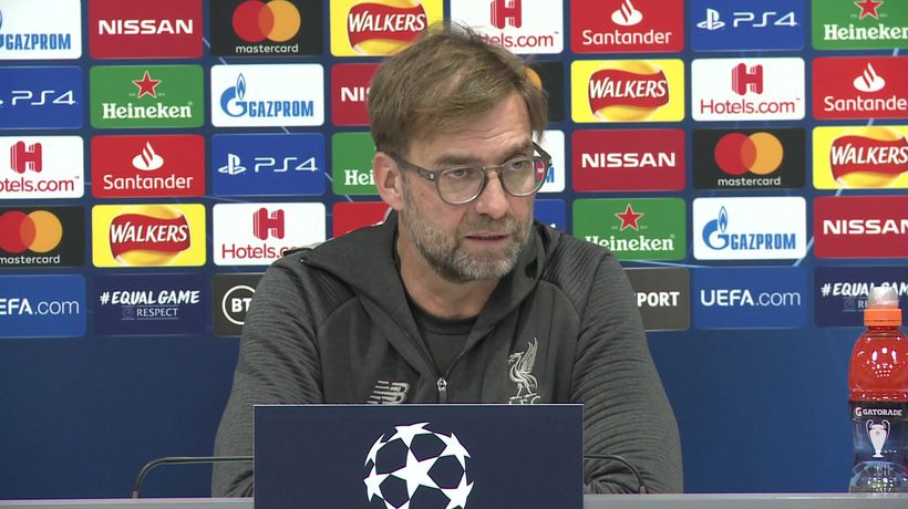 Only half-time in tie, crowd can help - Klopp