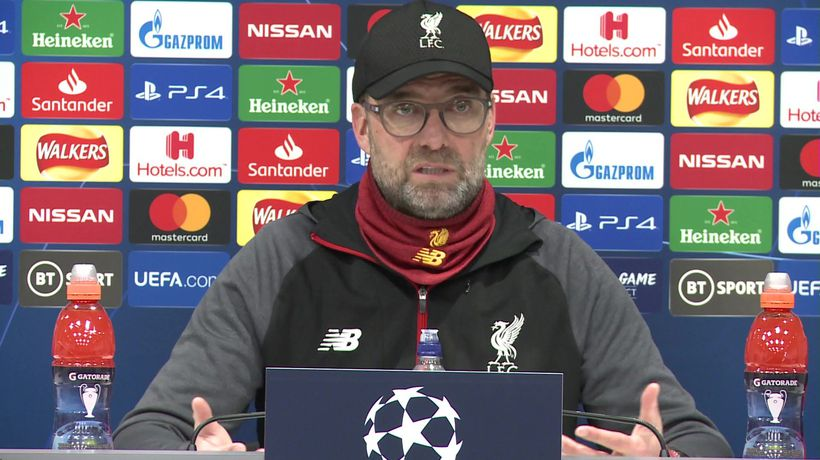 Tonight won't impact season - Klopp