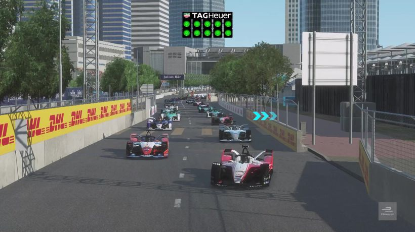 Highlights from Formula E at home race four