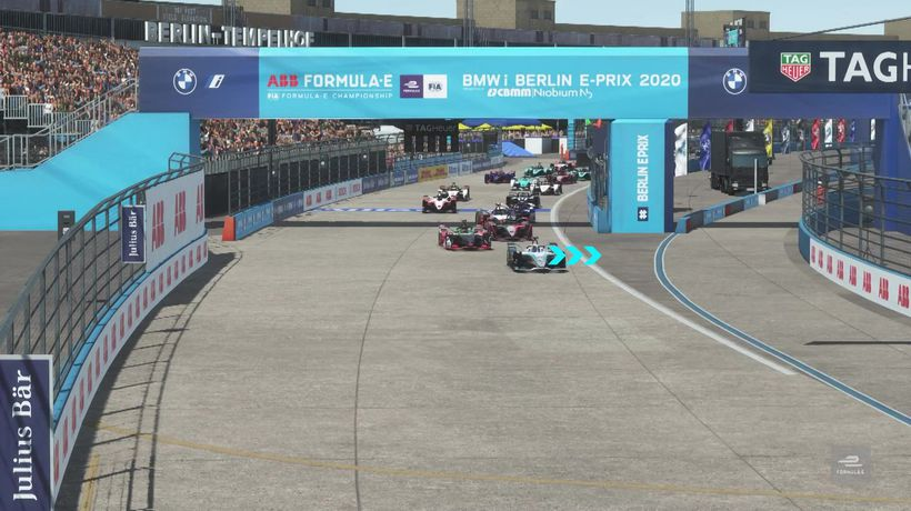 Highlights from Formula E at home race five