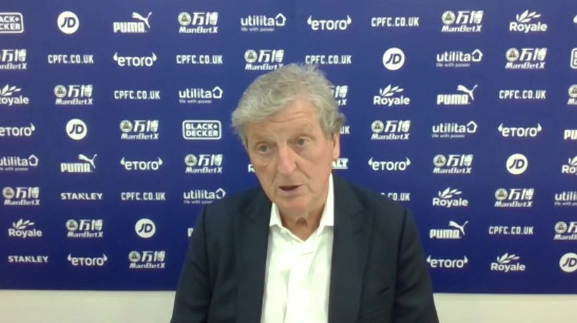 Hodgson encouraged by Palace performance in defeat