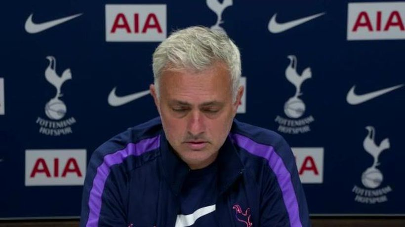 Mourinho refuses to be drawn on Dier ban