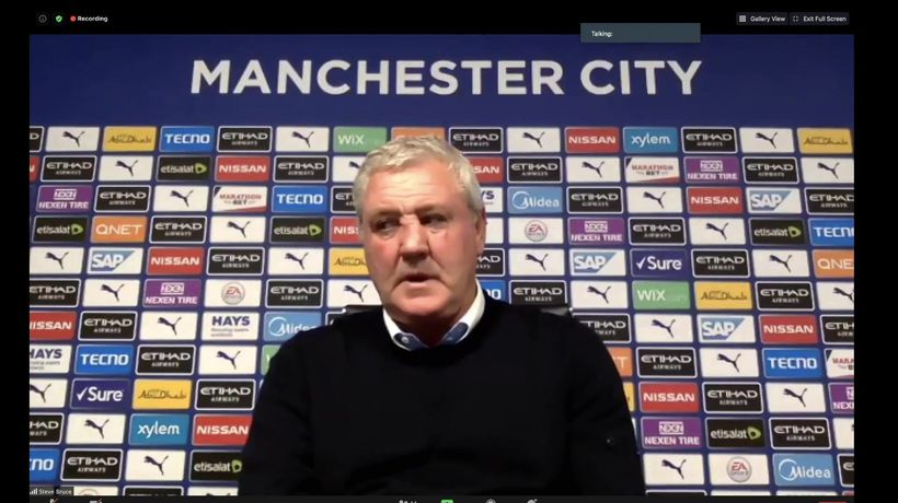 Bruce on sorry Newcastle's hammering at City