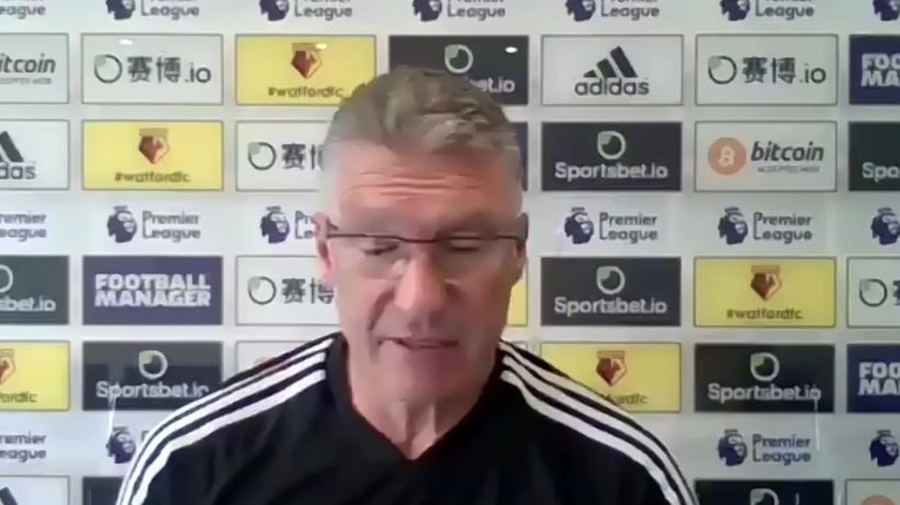 Nigel Pearson on Watford's relegation plight