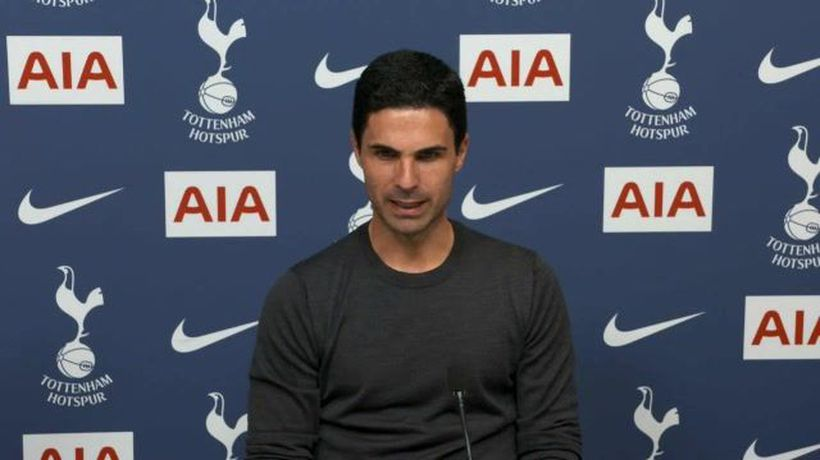 Arteta on disappointing derby defeat at Spurs