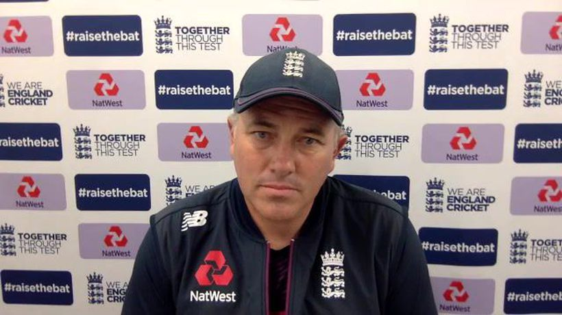 England's Chris Silverwood post day 1 of 1st Test