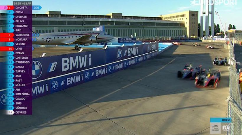 Highlights from Formula E race 7 in Berlin