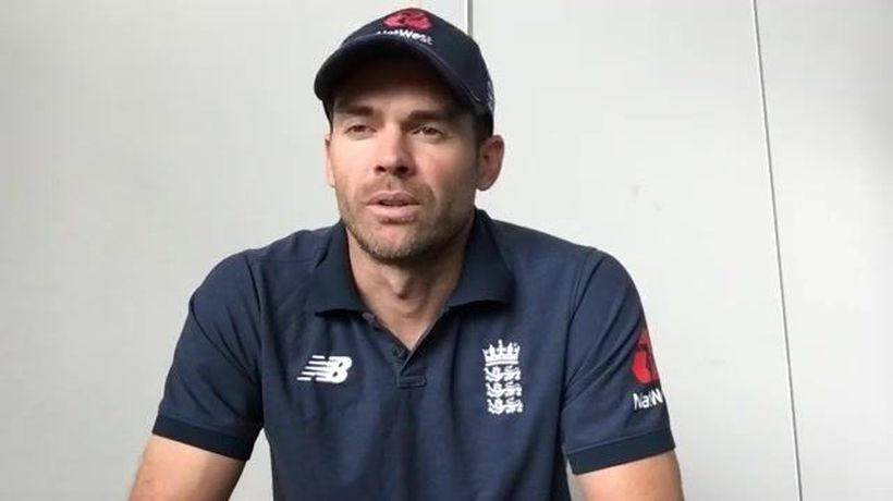 England's James Anderson pre 2nd Test v Pakistan