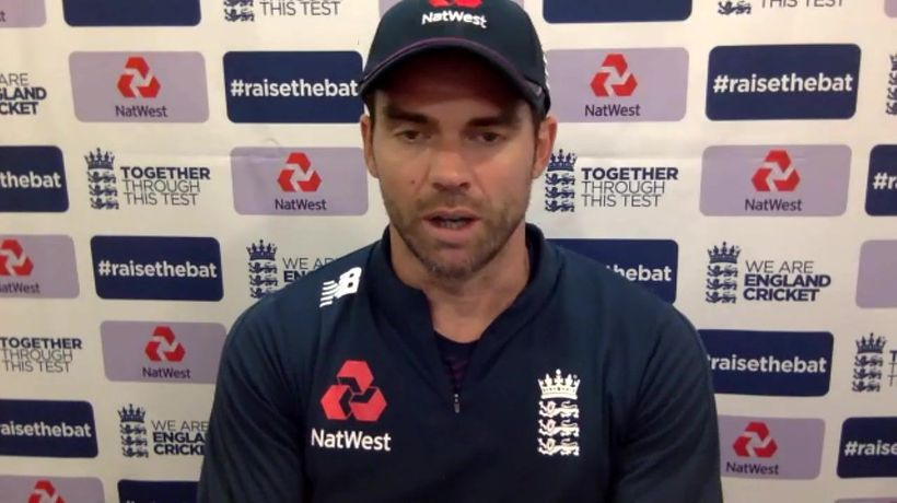 Jimmy Anderson on frustrating day 2 of 2nd test