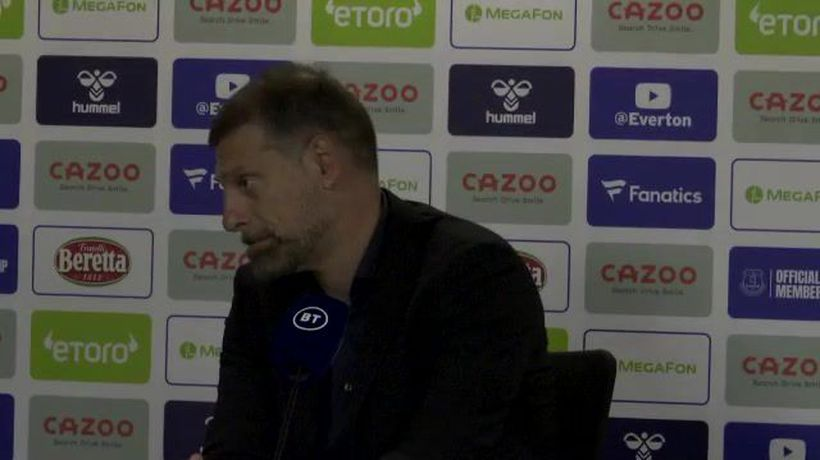 Bilic disappointed with red card in Everton defeat