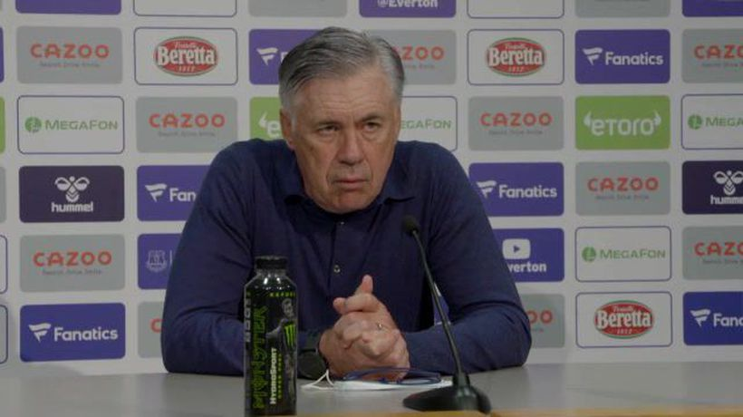 Ancelotti pleased with Everton mentality