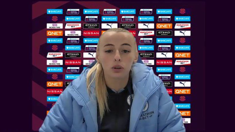 Man City Ladies Chloe Kelly on her double v Spurs