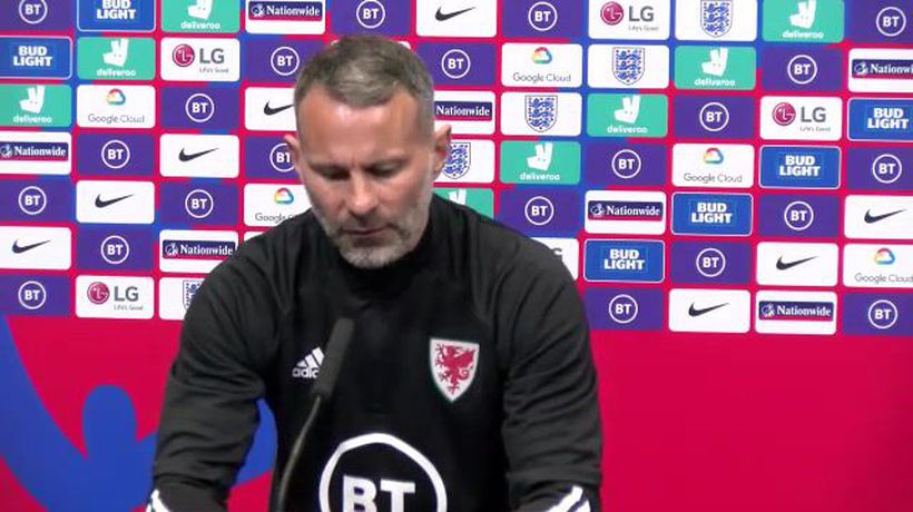 Ryan Giggs looks for positives after England loss