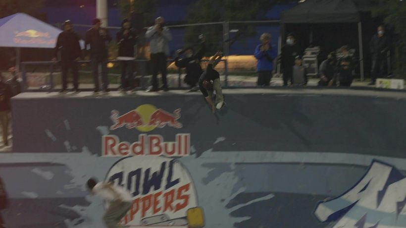 Highlights from Red Bull Rippers Skateboard