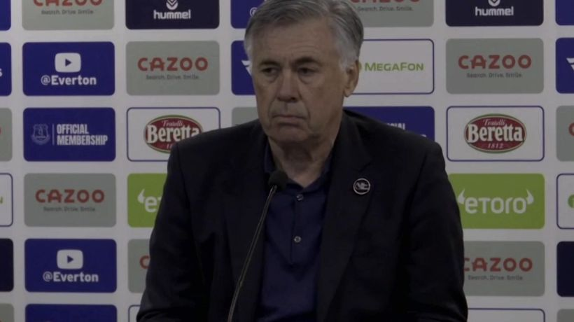 Ancelotti reaction to Merseyside derby draw