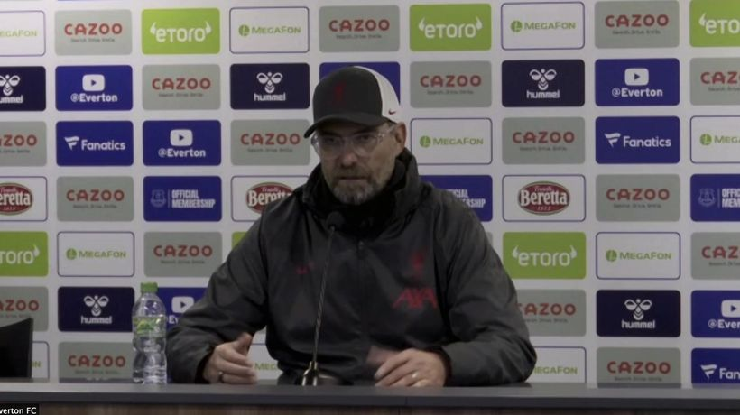 Klopp stunned by VAR controversy in derby draw