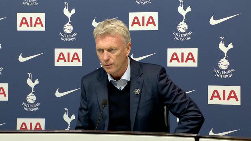 Moyes delighted with West Ham late show at Spurs