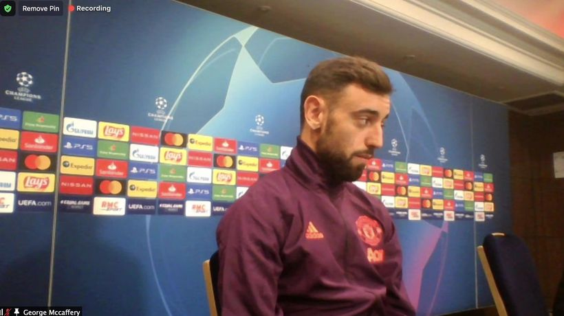 Solskjaer and Fernandes preview Utd UCL PSV trip