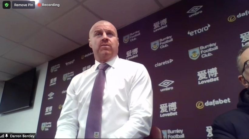 Dyche pleased with improvement in Spurs defeat