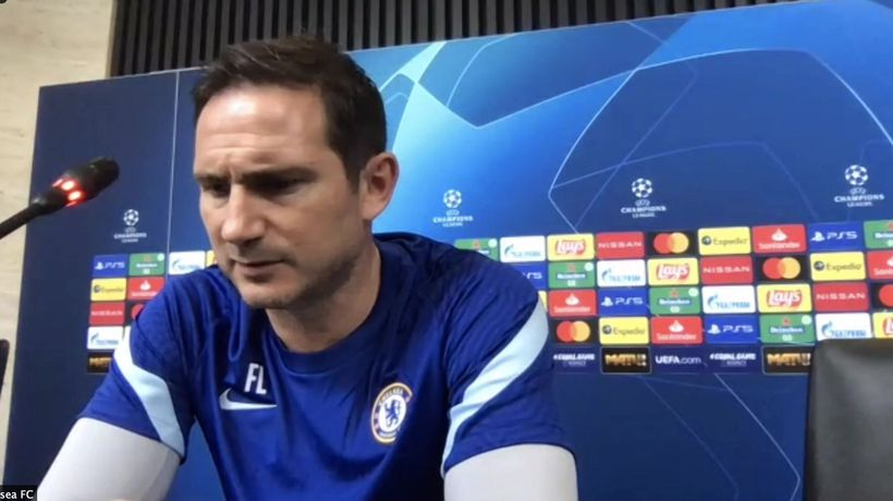 Lampard on chelsea injury latest ahead of UCL