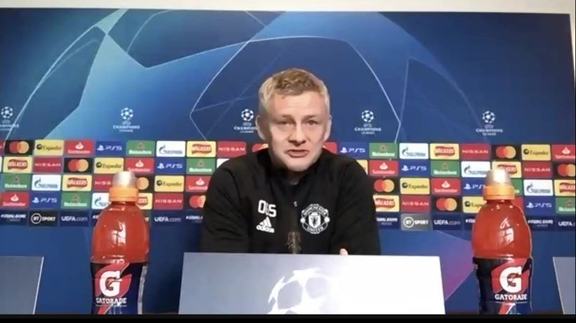 United's Solskjaer pre Istanbul in UCL