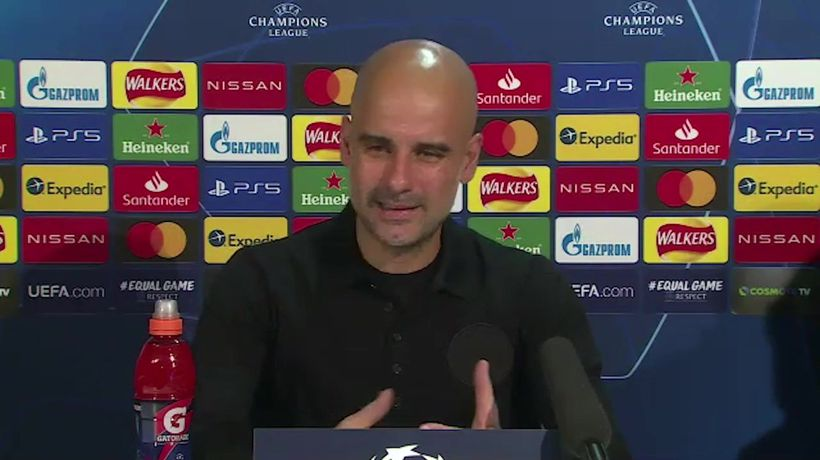 Guardiola pleased to see fans return ahead of UCL