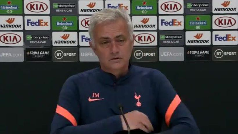 Mourinho looking to rest players and UEL progress