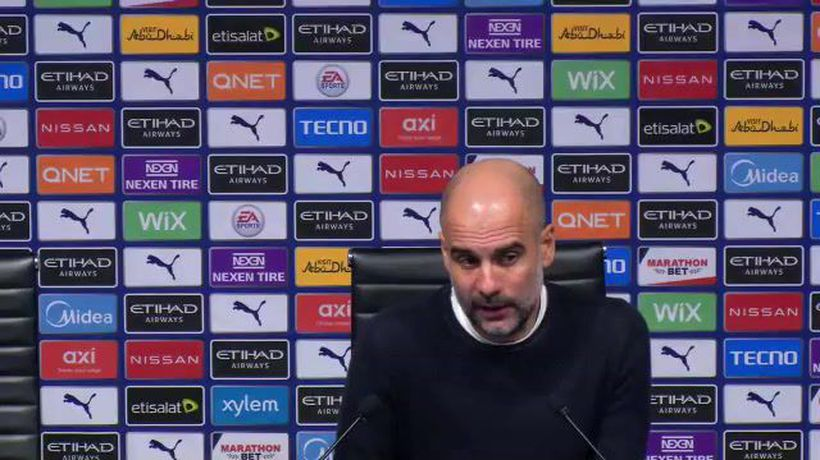 Guardiola post Birmingham FA Cup win