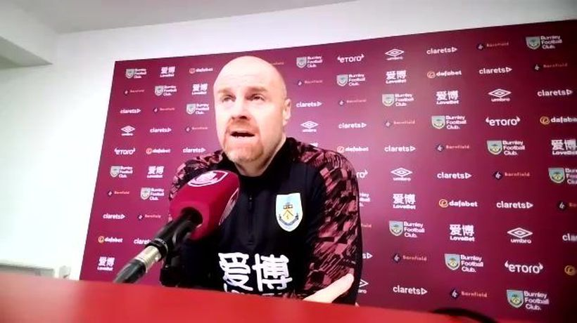 Dyche looking to lift Burnley from drop zone v Utd