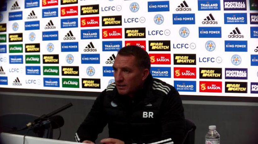 Rodgers previews Leicester v Chelsea