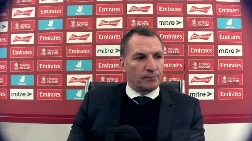 Rodgers on Leicester FA Cup delight