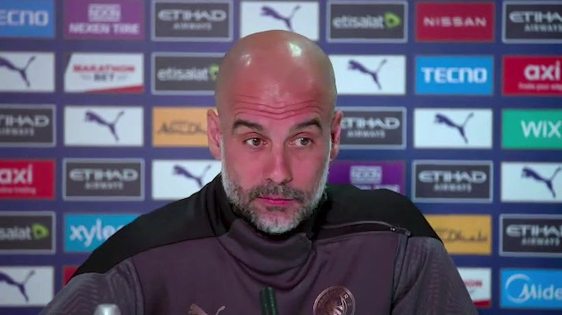 Pep Guardiola previews City's trip to Leicester