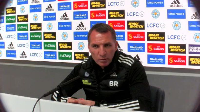 Brendan Rodgers on Leicester's crunch trip to West Ham