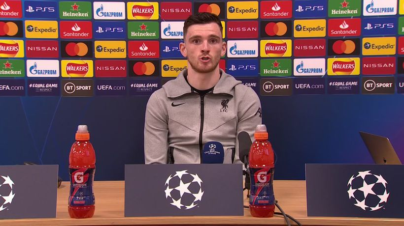 Andy Robertson calls on spirit of fans as Liverpool look for Madrid UCL miracle