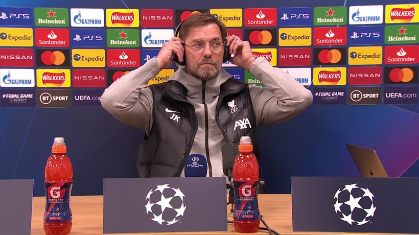 Klopp previews crucial Real Madrid UCL visit