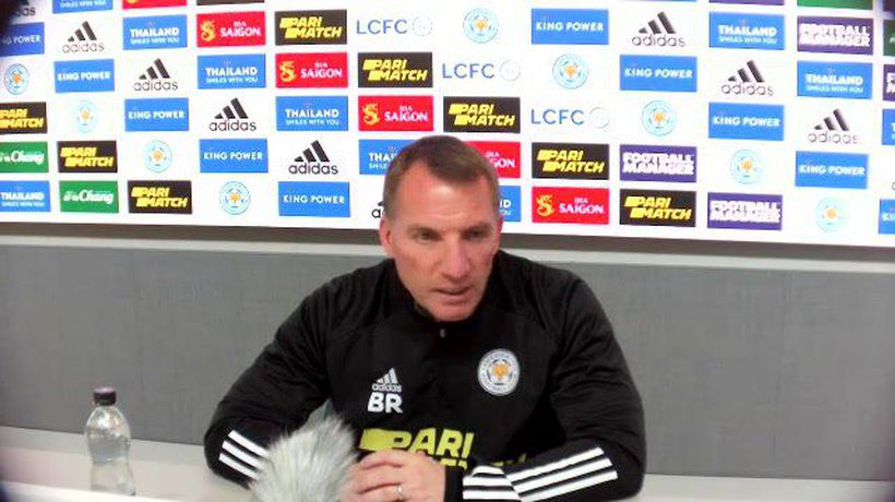 Rodgers previews Leicester v Newcastle