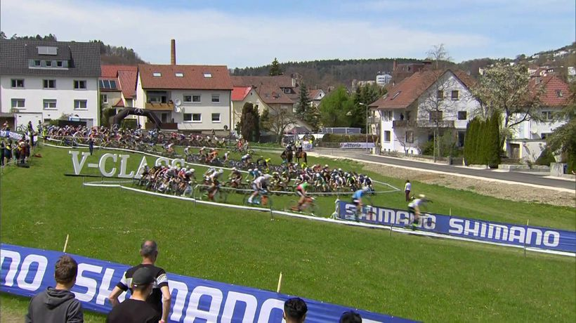 Highlights from UCI Mountain Bike World Cup XCO in Albstadt