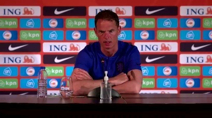 De Boer on Scotland's chances of qualifying from group