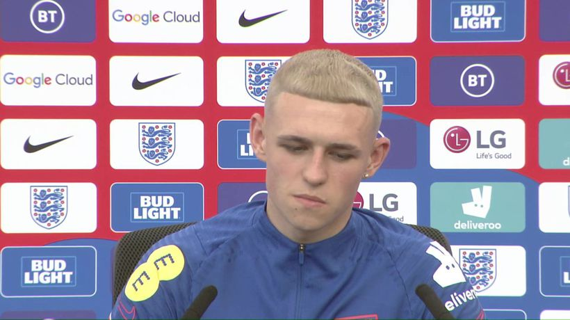 England's Phil Foden on their Euro 2020 campaign